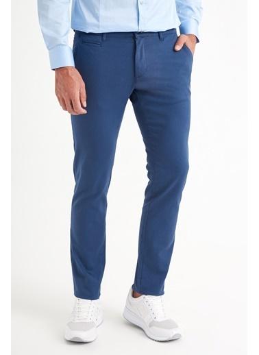 Avva Erkek  Yandan Cepli Slim Fitilli Pantolon A92Y3087 İndigo